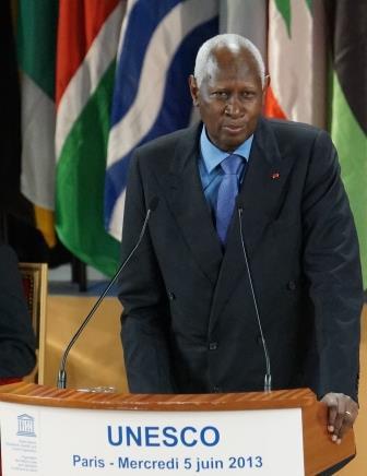 Abdou Diouf  président de l OIF
