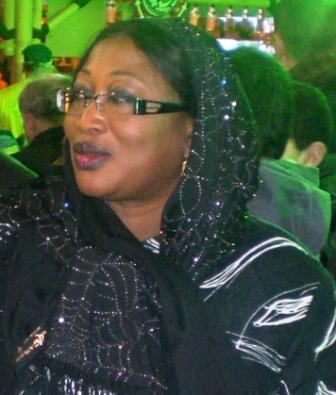 Le ministre de l'agriculture et des biocarburants du Sénégal au SIA 2010 Paris