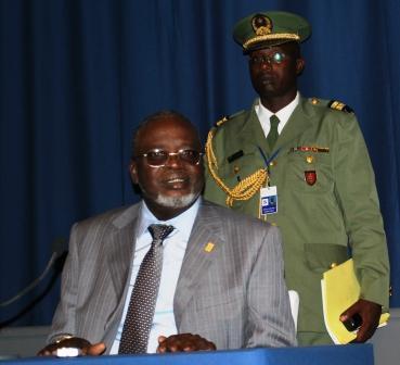 Le président de l'état de Guinée Bissau