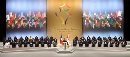 Ouverture officielle du 25e sommet Afrique France