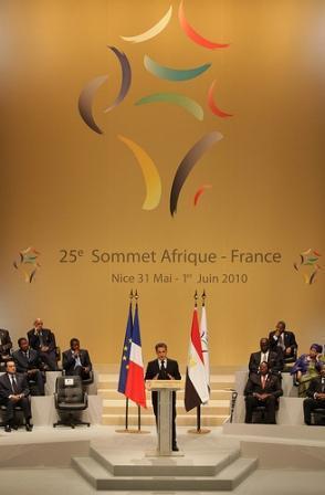 Intervention du président Nicolas Sarkozy à l'ouverture officielle du sommet