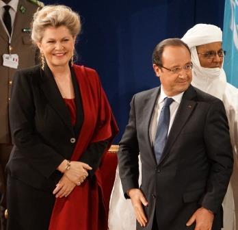 Présidente conf générale - Hollande