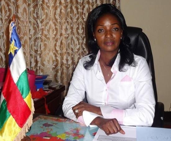 Virginie Mbaikou ministre affaires sociales ( Touadera 1)