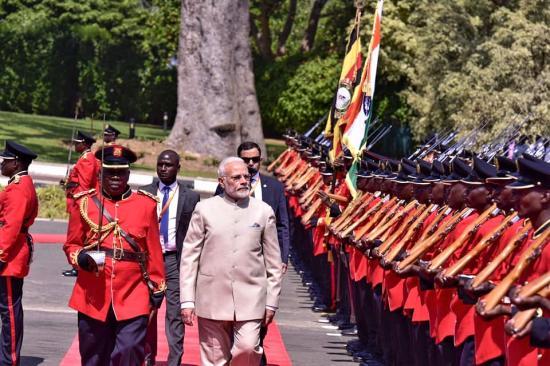 Inde Visit Of Prime Minister To Uganda July 24 25 2018