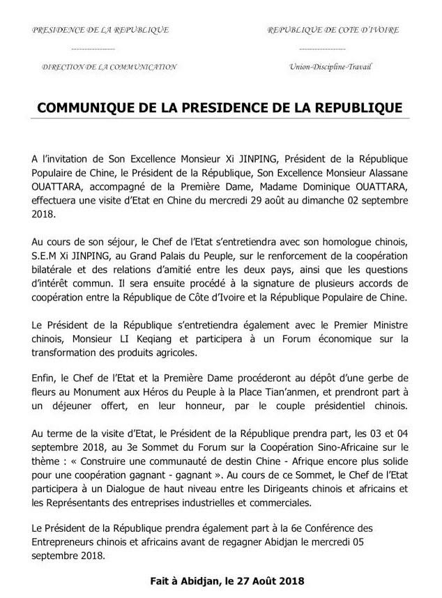 099f89f638685d Côte d Ivoire   le couple présidentiel en Chine
