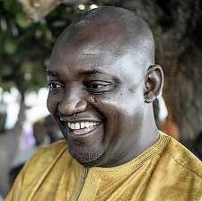 Adama barrow president de la gambie