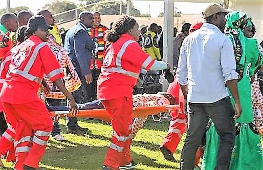 Attentat zimbabwe