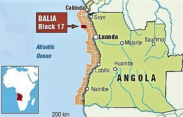 Bloc 17 angola