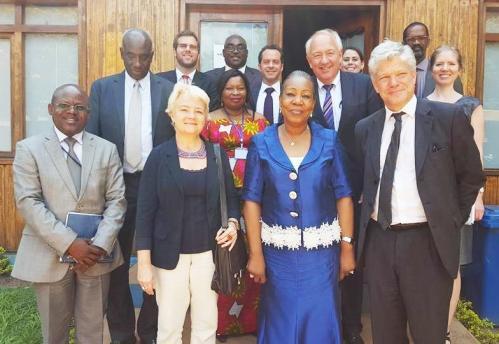 Csp et la delegation 21 sept 2016