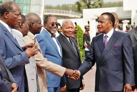 Depart le 13 juin 2015 sassou nguesso