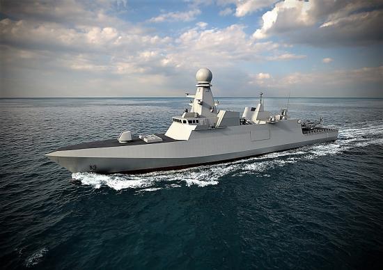 Dimdex 2018 fincantieri unveils qatari navy air defense corvette design 1