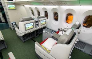 Ethiopian airlines 787 business class