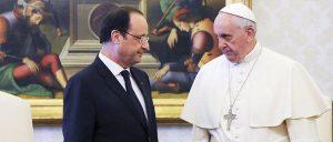 Hollande chez le pape