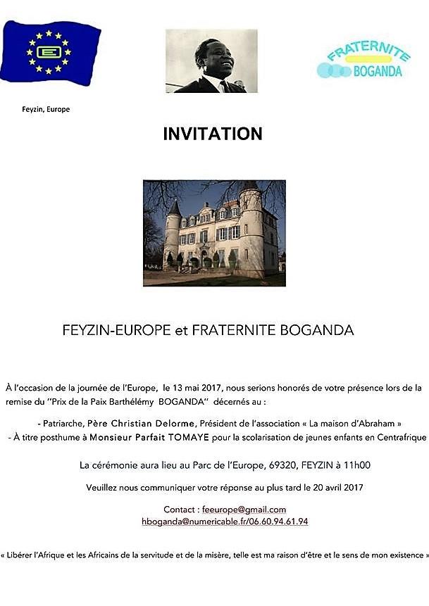 Invitation pdf boganda