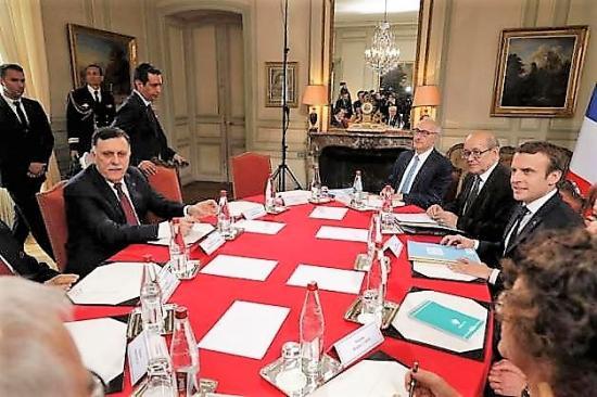 Macron et la libye