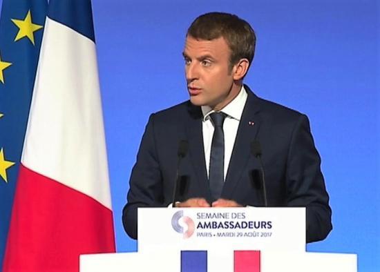Macron politique etrangere