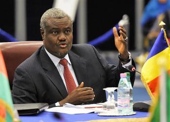 Moussa faki mahamat elu president de la commission de l union africaine