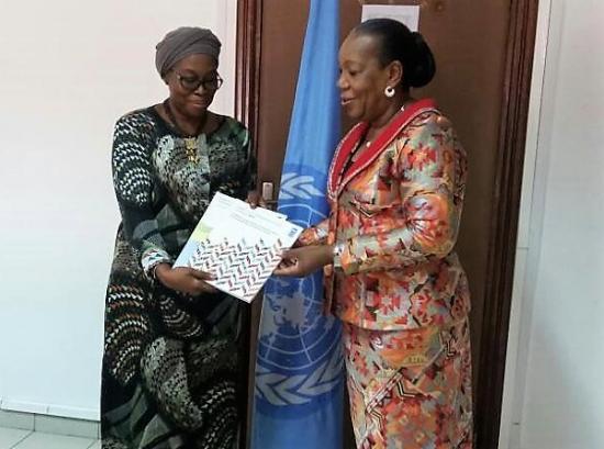 Representante pnud togo et csp a lome avril 2017