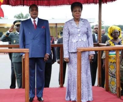Sassou nguesso et samba panza