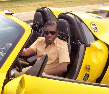 Teodorin obiang au volant